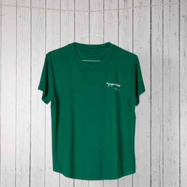 Like a bird shirt grün